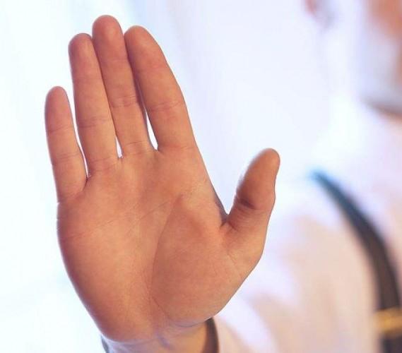 sintoma de anemia - mão branca